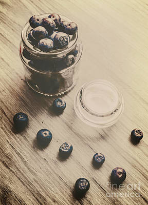 Photograph - Vintage Blueberries by Jorgo Photography - Wall Art Gallery