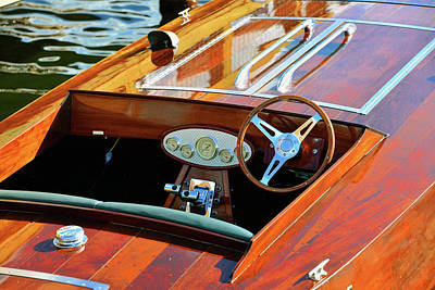 Photograph - Vintage Boat Work 12 by David Lee Thompson