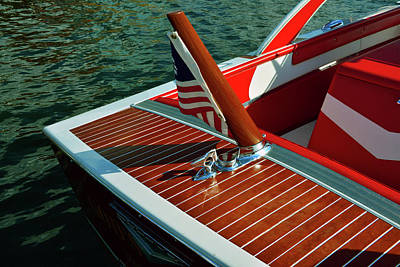 Photograph - Vintage Boating by David Lee Thompson