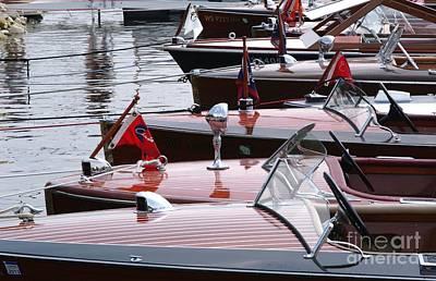 Vintage Boats Art Print