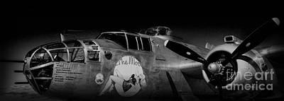 Photograph - Vintage Bomber by Steven Parker
