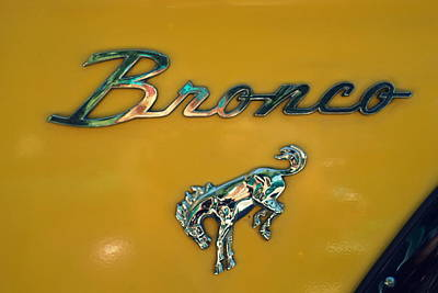 Photograph - Vintage Bronco by Laurie Perry