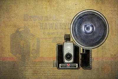 Photograph - Vintage Brownie Hawkeye by Irwin Seidman