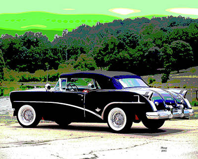 Vintage Buick Art Print by Charles Shoup