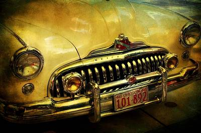 Oregon Art Digital Art - Vintage Buick Road Master by Cathie Tyler