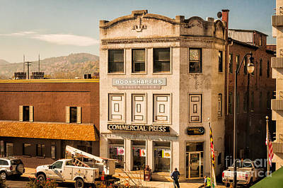 Photograph - Vintage Building In A Small Town by Kathleen K Parker