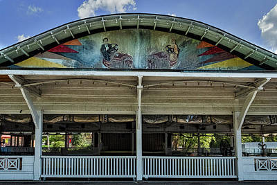 Photograph - Vintage Bumper Car Pavillion by Stuart Litoff