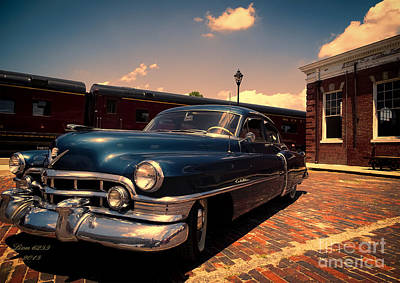 Photograph - Vintage Cadillac  by Melissa Messick