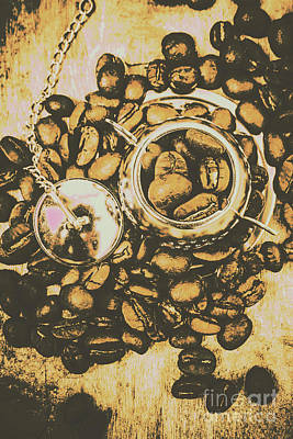 Food And Beverage Royalty-Free and Rights-Managed Images - Vintage cafe artwork by Jorgo Photography - Wall Art Gallery