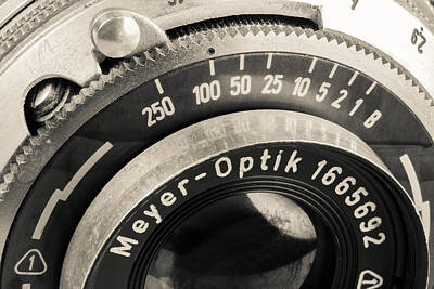 Aperture Photograph - Vintage Camera -1 by Rudy Umans