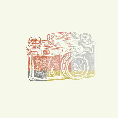 Camera Digital Art - Vintage Camera 2 by Brandi Fitzgerald