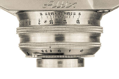 Aperture Photograph - Vintage Camera - 4 by Rudy Umans