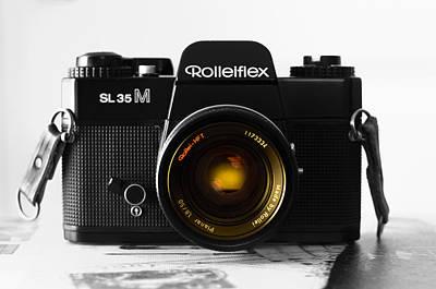 Ansco Photograph - Vintage Camera C30f by Otri Park