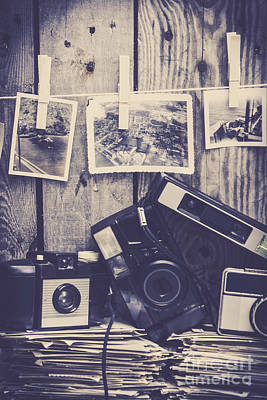 Snapshots Wall Art - Photograph - Vintage Camera Gallery by Jorgo Photography - Wall Art Gallery