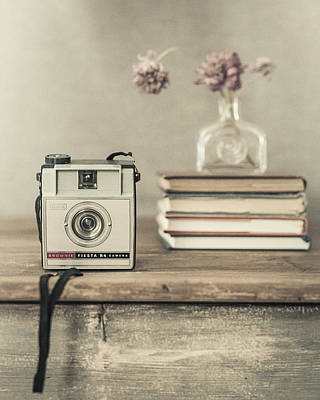 Photograph - Vintage Camera by Kim Swanson