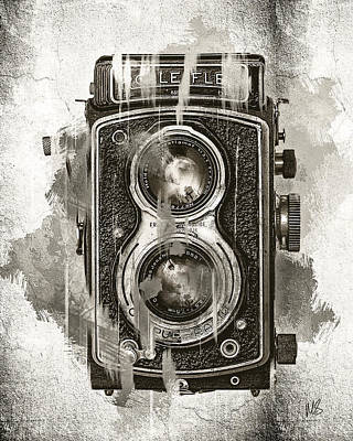 Vintage Camera Mixed Media - Vintage Camera by Melissa Smith
