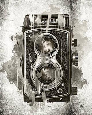 Vintage Camera Mixed Media - Vintage Camera by Melissa Smith