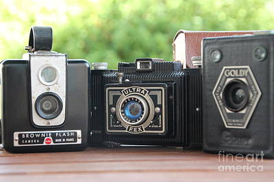 Photograph - Vintage Cameras  by Lynn England
