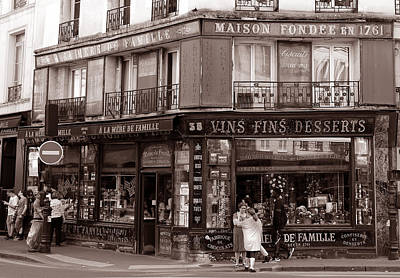 Photograph - Vintage Candy Store 3 by Andrew Fare