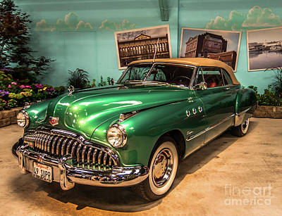 Photograph - Vintage Car - 1949 Buick - 2016 Sonoma County Fair by Blake Webster