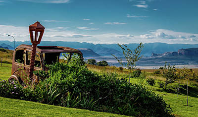Photograph - Vintage Car Abandoned On The Maluti Mountains by RayZa Photography