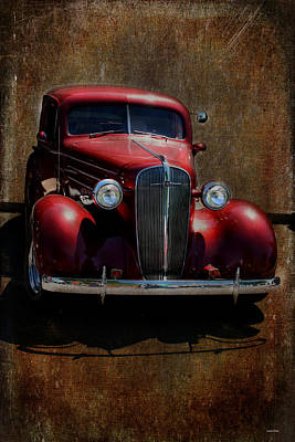 Photograph - Vintage Car Art 0443  by Lesa Fine