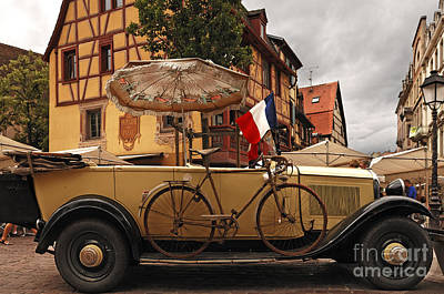 Colmar Wall Art - Photograph - Vintage Car by Helmut Meyer zur Capellen