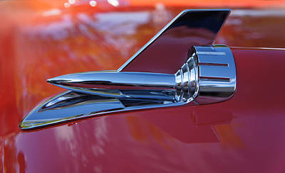 Custom Ring Photograph - Vintage Car Hood Ornament by Art Spectrum