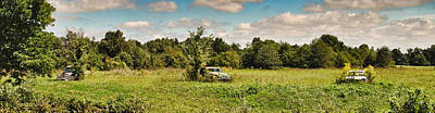 Photograph - Vintage Cars Field Of Dreams by Greg Jackson