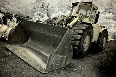 Photograph - Vintage Caterpillar Front End Loader by Luke Moore