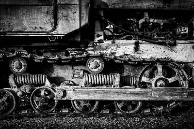 Photograph - Vintage Caterpillar Tracks by John Williams