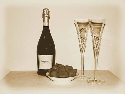 Photograph - Vintage Celebration Still Life by Kathy K McClellan
