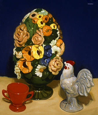 Painting - Vintage Ceramic Fakery by Robert Holden