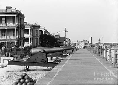 Photograph - Vintage Charleston Battery by Dale Powell