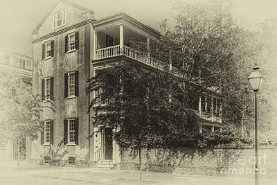 Photograph - Vintage Charleston Sc by Dale Powell