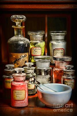 Medical Photograph - Vintage Chemistry by Paul Ward