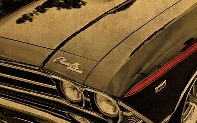 Vintage Chevrolet Chevelle Hood Art Print