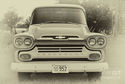 Photograph - Vintage Chevrolet Truck by Dale Powell