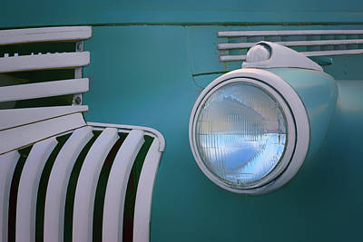 Photograph - Vintage - Chevrolet Truck - Detail 1 by Nikolyn McDonald