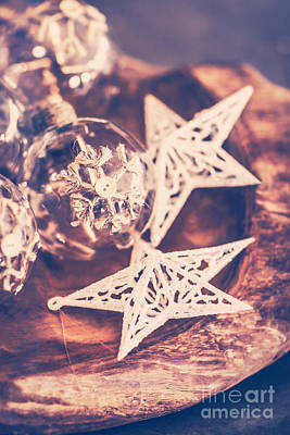 Photograph - Vintage Christmas Decorations by Anna Om