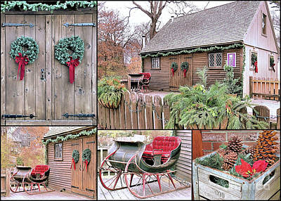 Photograph - Vintage Christmas by Janice Drew