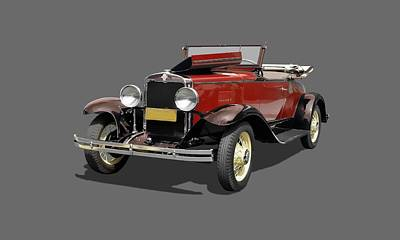 Photograph - Vintage Classic Car Coupe by Joy of Life Art Gallery