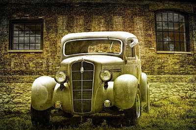 Photograph - Vintage Classic Plymouth Automobile by Randall Nyhof