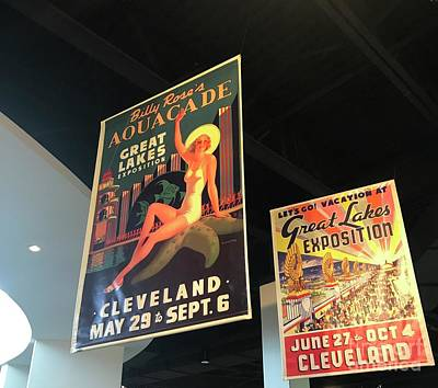 Photograph - Vintage Cleveland by Michael Krek