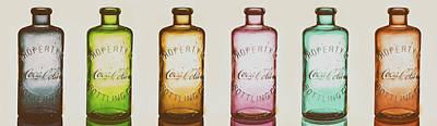 Photograph - Vintage Coca Cola Bottles by Pixabay
