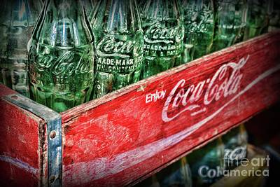 Photograph - Vintage Coca Cola Collection  by Paul Ward