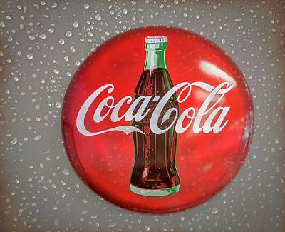 Photograph - Vintage Coca Cola Sign by Gene Parks