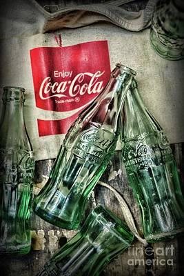 Photograph - Vintage Coca Cola Vender by Paul Ward