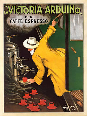 Digital Art - Vintage Coffee Advert - Circa 1920's by Marlene Watson