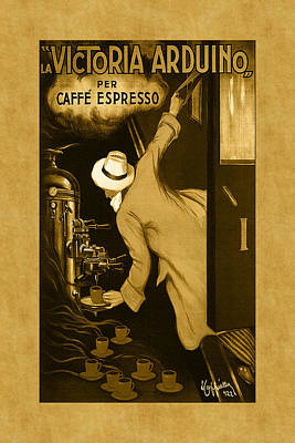 Photograph - Vintage Coffee Advertisement 2 by Andrew Fare